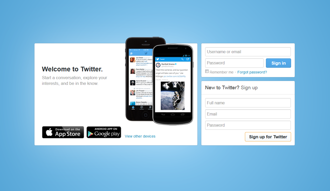 How to create a Twitter account