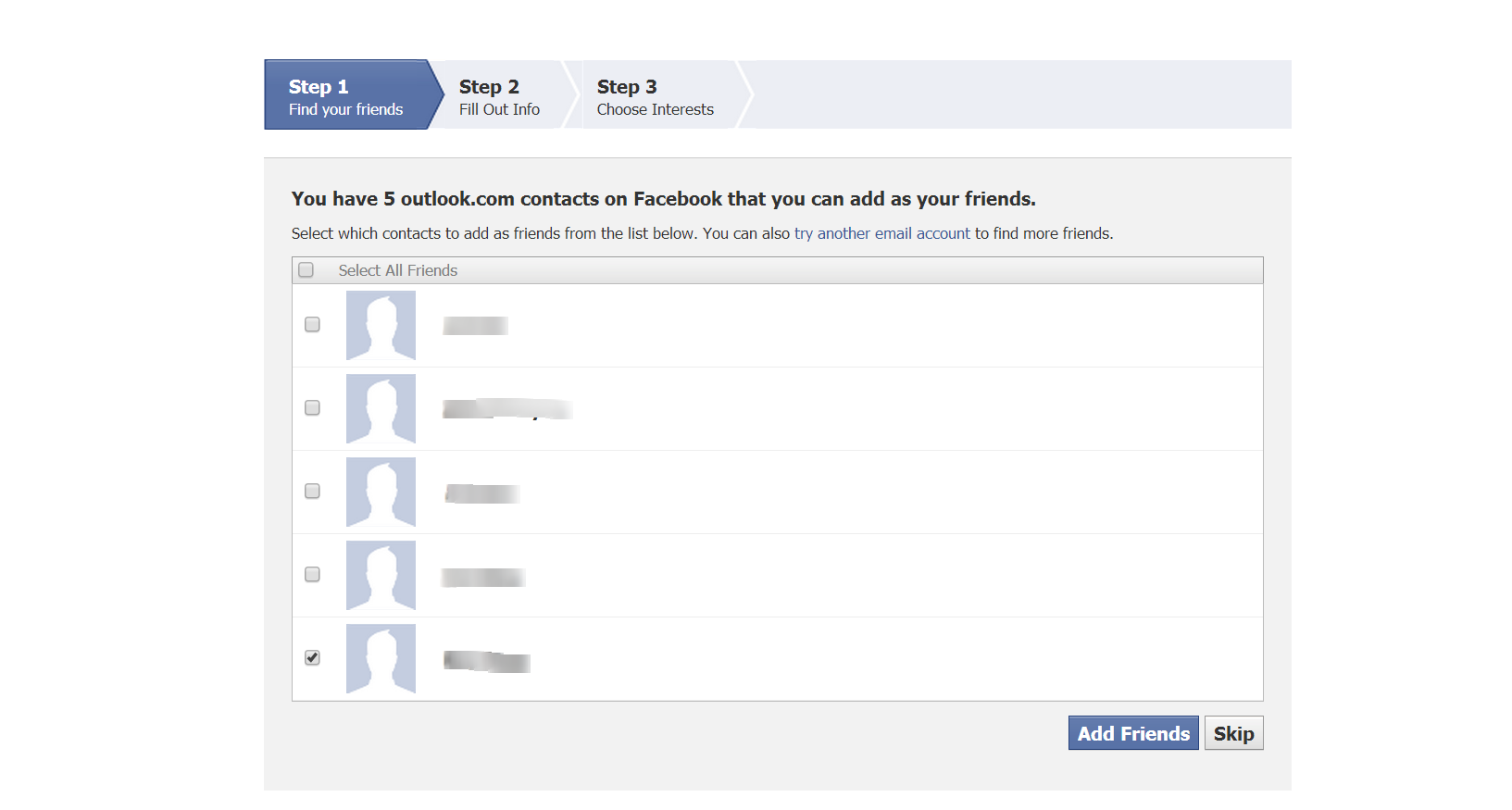 How to Create a Facebook with PC add friends