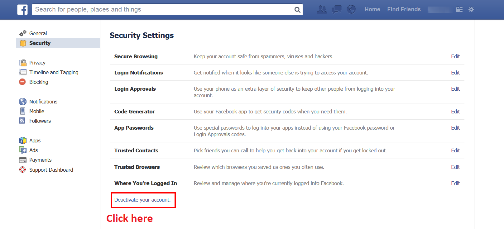How to Delete Your Facebook Account - 101.5KB