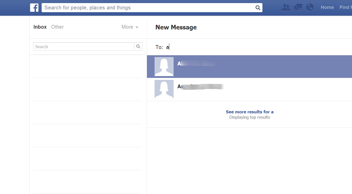 how to cancel the message sent on facebook