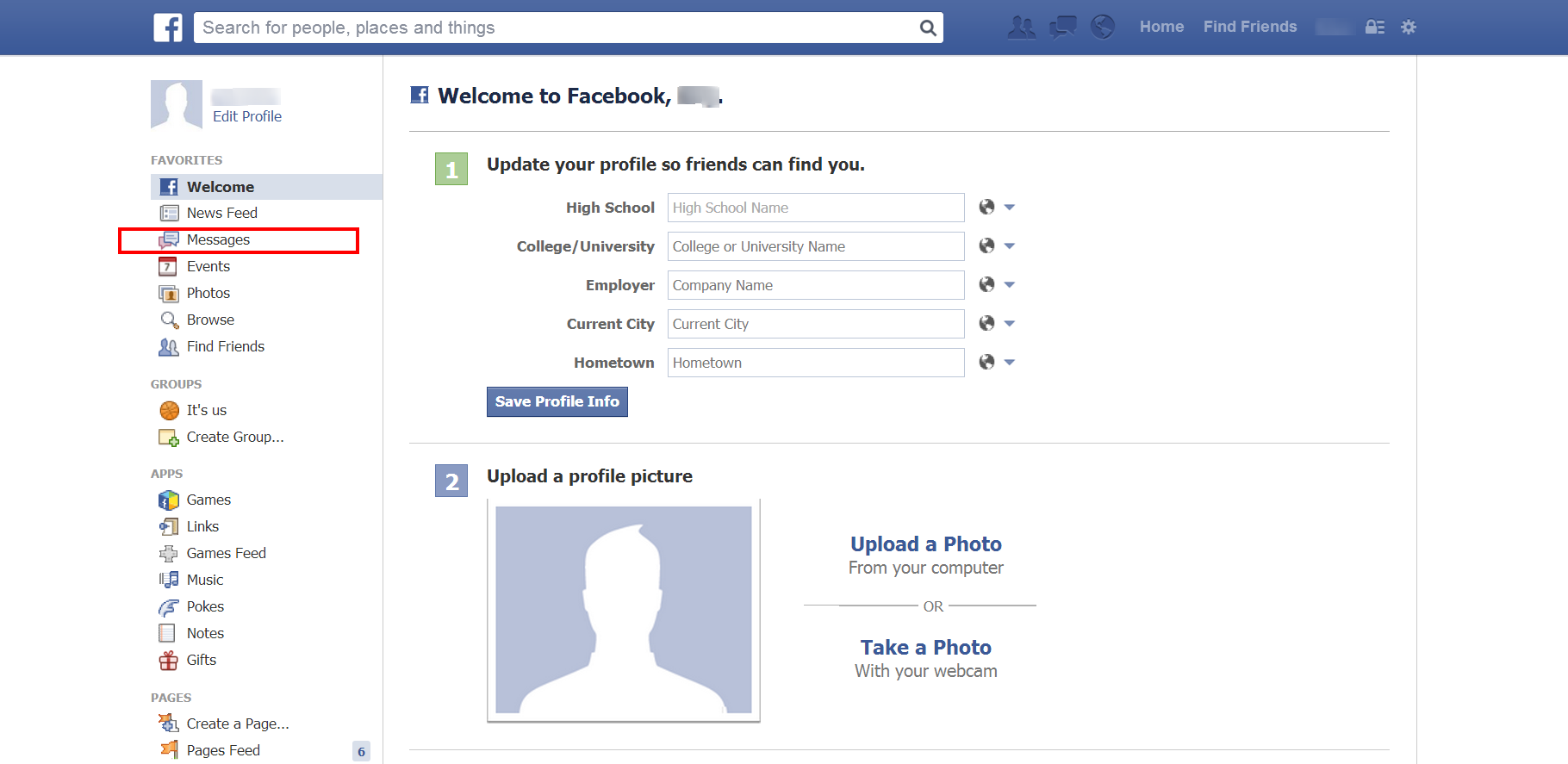 How To Send Messages To Your Friends On Facebook On A Pc