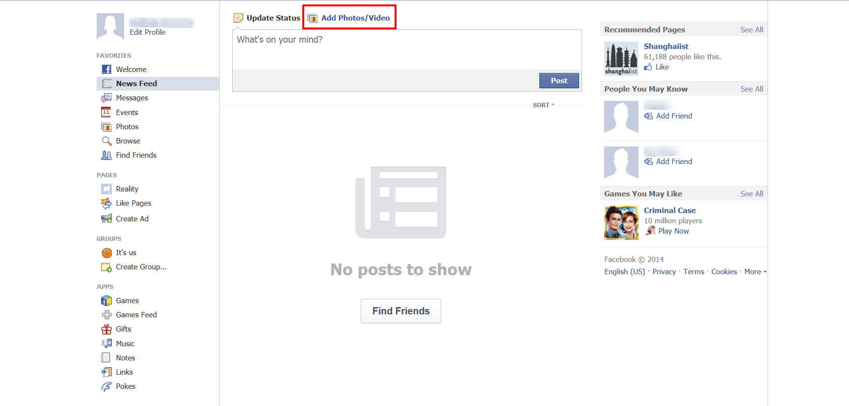 How to Share Photos and videos on Facebook add photos
