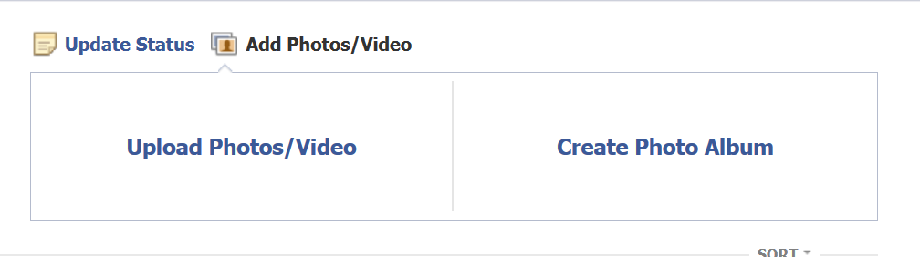 How to Share Photos and videos on Facebook two types of photos